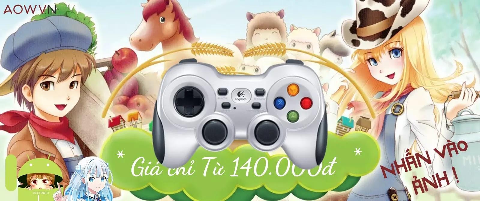 AowVN Gamepad - [ HOT ] Harvest Moon Hero of Leaf Valley Việt Hoá 100% | Android & PC PSP - Siêu phẩm nông trại RPG huyền thoại