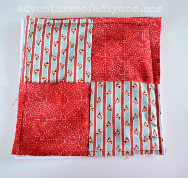 Easy Fabric Hot Pad - Sewing