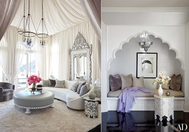 Fotos da mansão de Khloe Kardashian