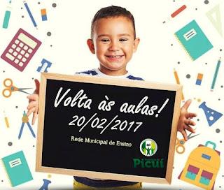 Secretaria de Educação anuncia semana pedagógica, retorno dos professores e início do ano letivo 2017