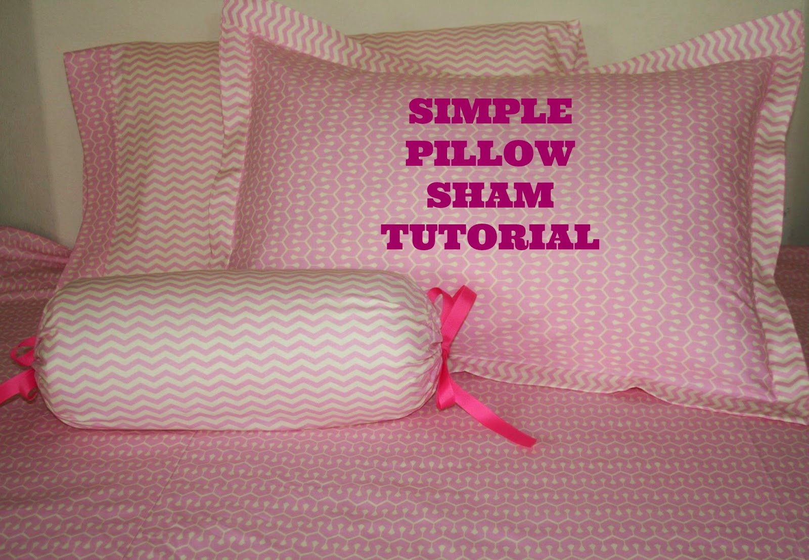 glam fabrics simple pillow sham tutorial for standard and king pillows. Black Bedroom Furniture Sets. Home Design Ideas