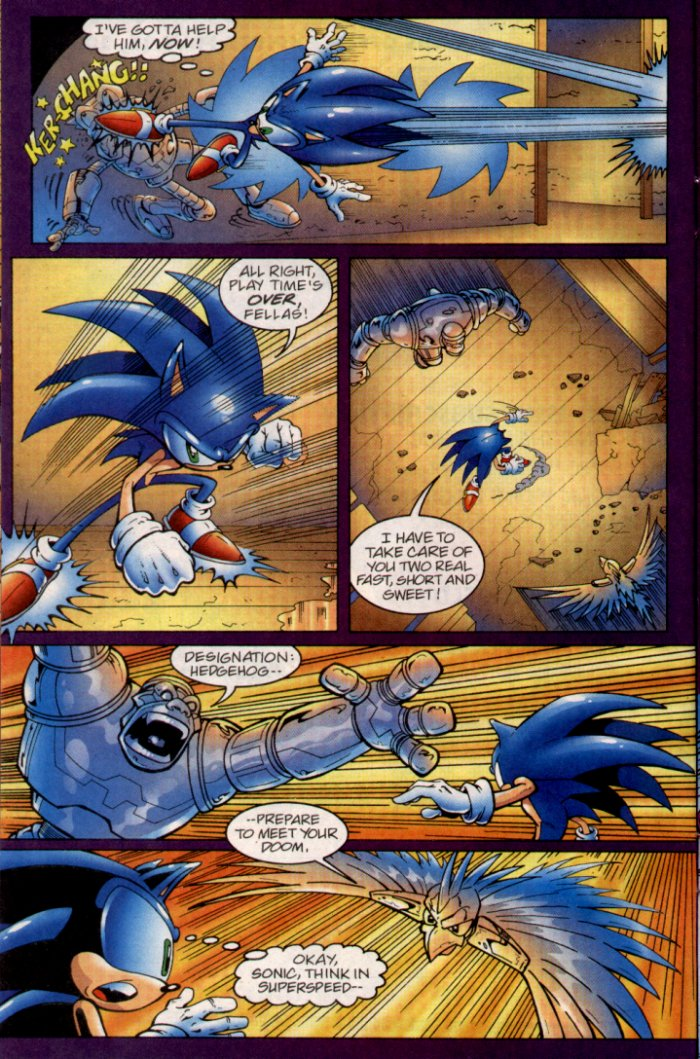 Read online Sonic The Hedgehog comic -  Issue #135 - 10