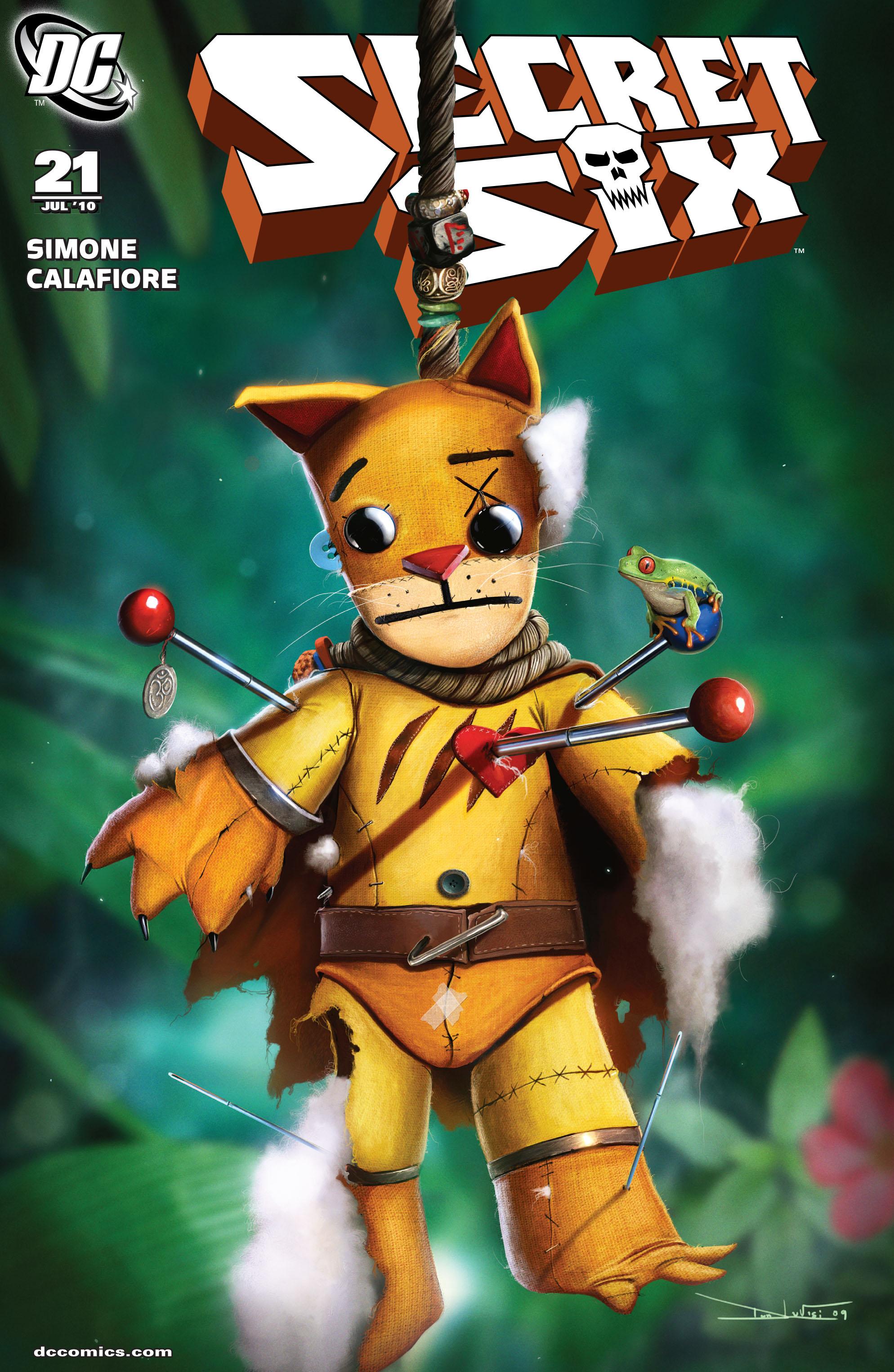 Read online Secret Six (2008) comic -  Issue #21 - 1