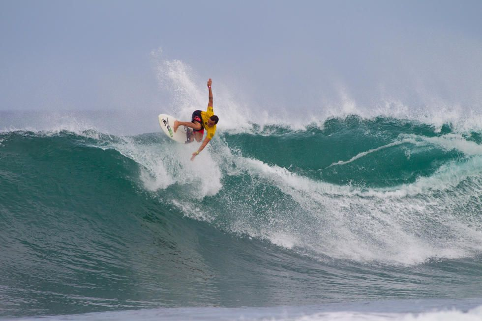 41 Marc Lacomare FRA Hawaiian Pro 2015 Foto WSL Laurent Masurel