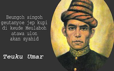 Teuku Umar Pahlawan Aceh