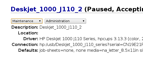 """Fix """"Filter Failed"""" when printing using HP Deskjet 1000 on Archlinux"""