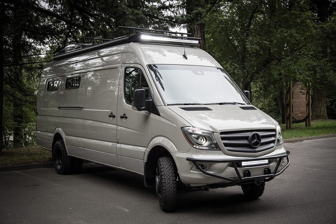 Mercedes Sprinter Valhalla 4x4 Karavan Teknolsun