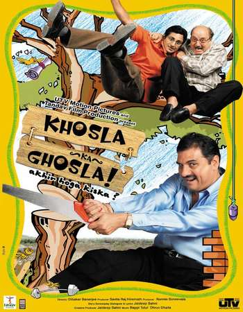 Poster Of Khosla Ka Ghosla! 2006 Hindi 350MB BRRip 480p Free Download Watch Online