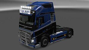 R.De Block skin + lightbox for Volvo 2012