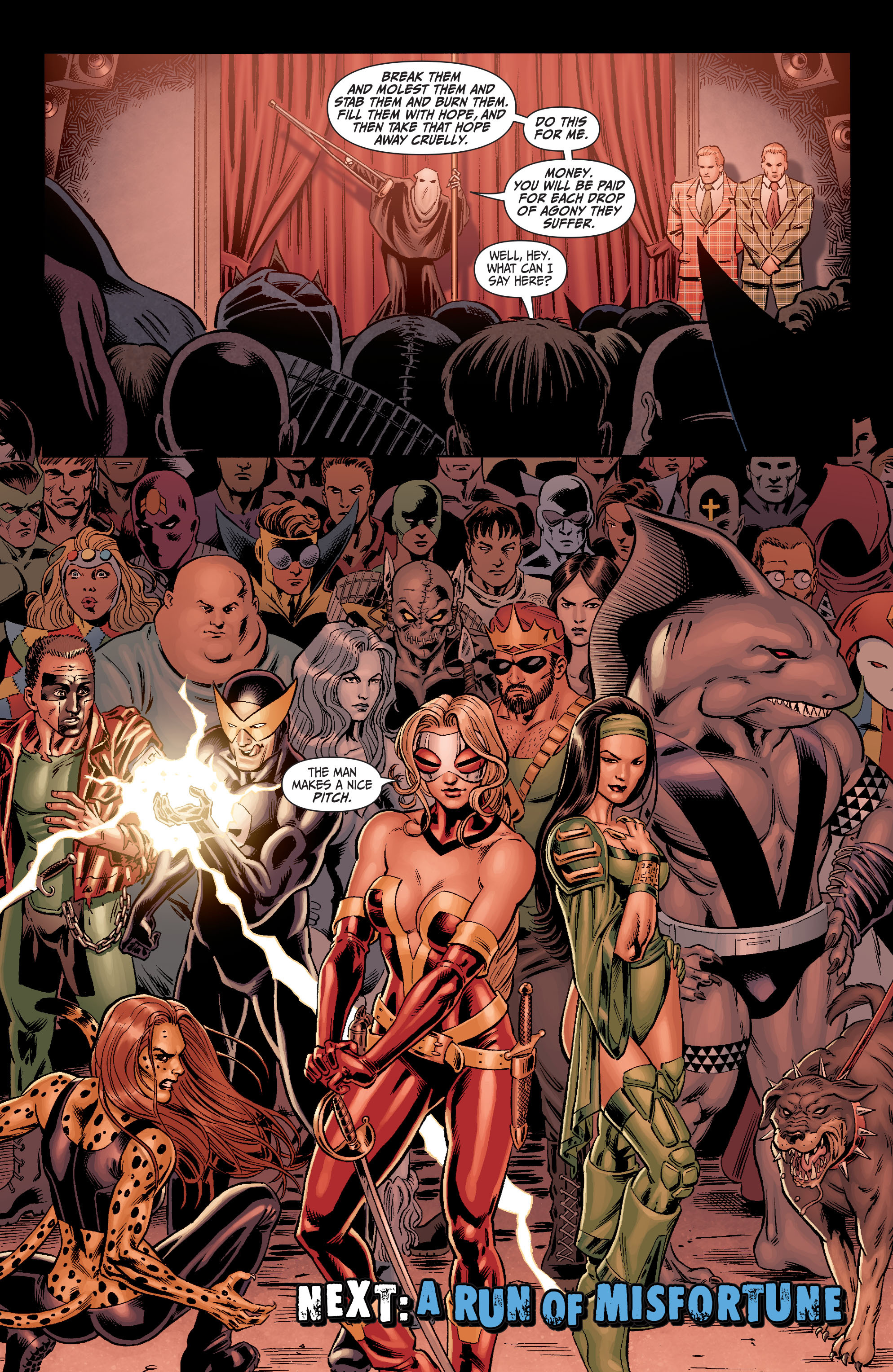 Read online Secret Six (2008) comic -  Issue #2 - 23