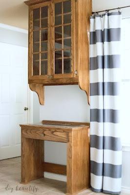 oak cabinet refresh
