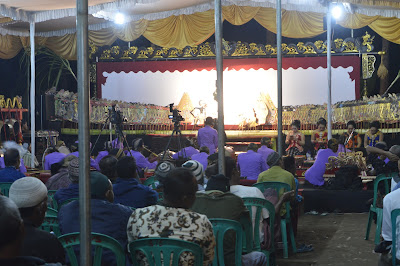 Sambuat Muharram Pentas Wayang Kulit digelar di Desa Pananjung