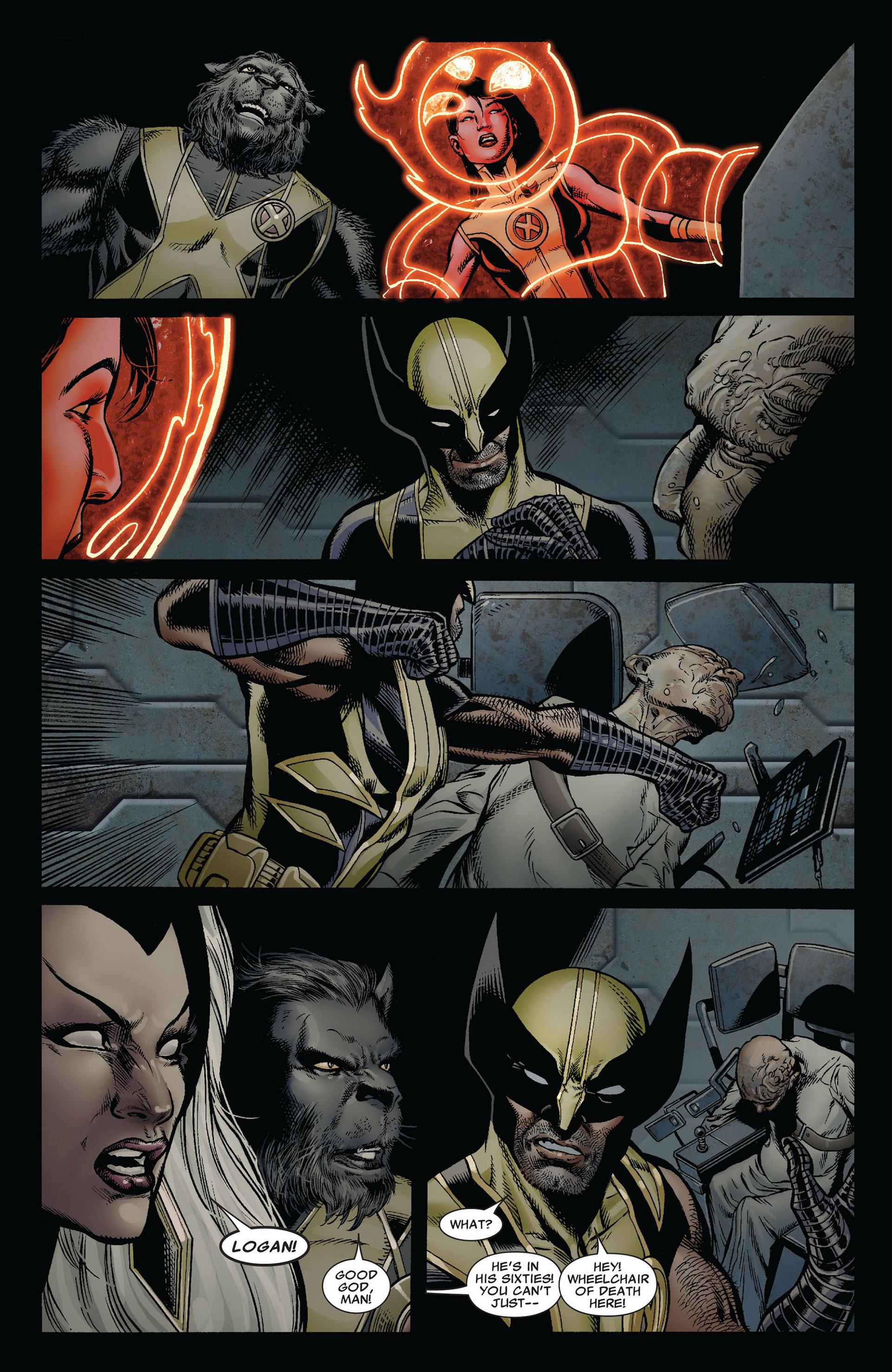 Read online Astonishing X-Men (2004) comic -  Issue #35 - 22