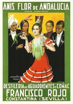 Anís Flor de Andalucía - Constantina - Juan José Barreira Polo - 1930
