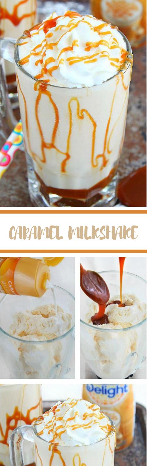 Caramel Milkshake #sweet #drinks