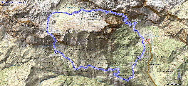 Mapa de la ruta PR PNPE 25