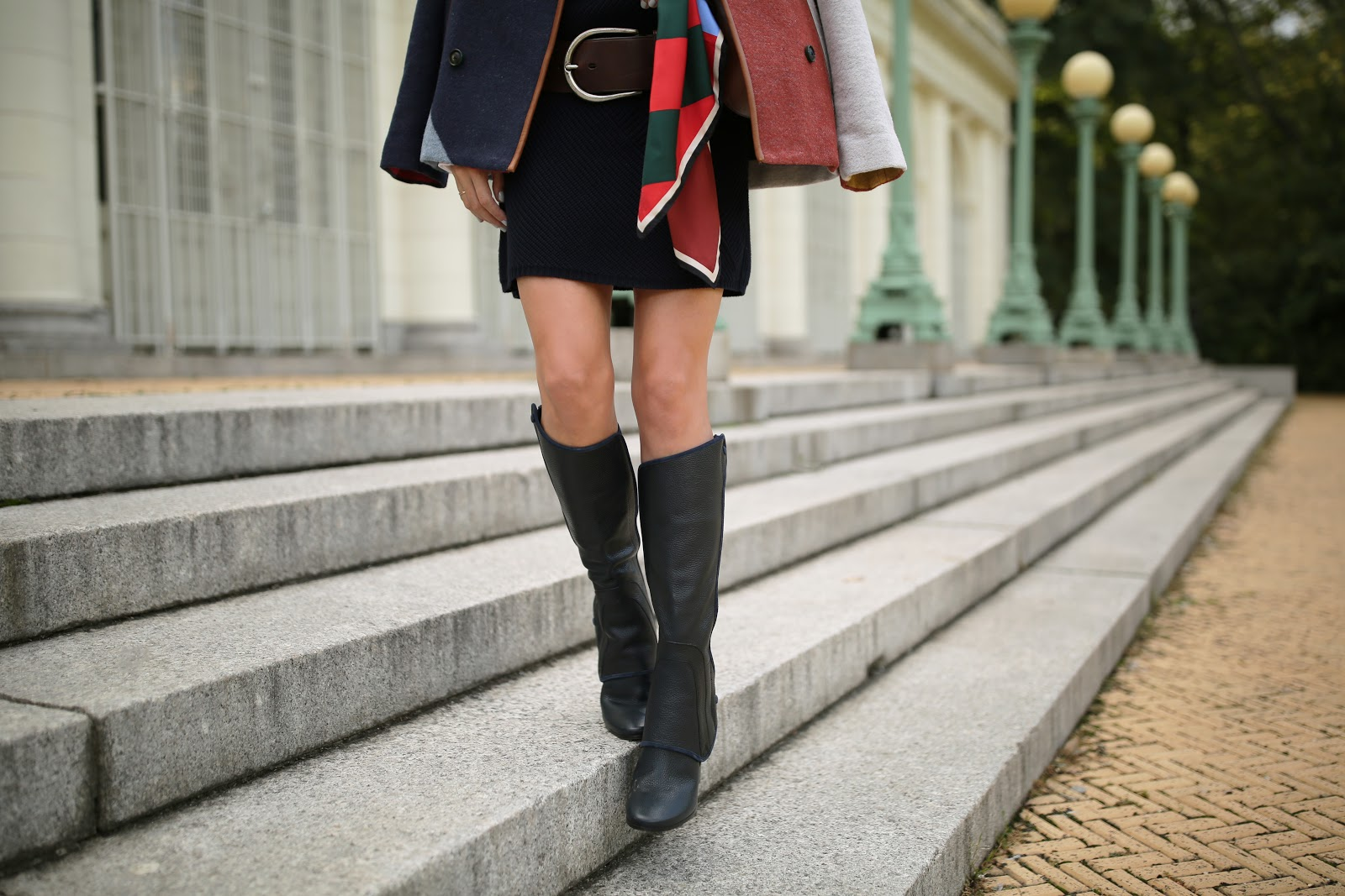 a5045e2ba74 Boots: Tory Burch Waterbury Convertible Boot (see my other Tory Burch boot  picks below). Sweater Dress: Tory Burch Brodie Tunic Dress.