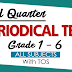 3RD QUARTER Periodical Tests (All Subjects) Ready-to-Use