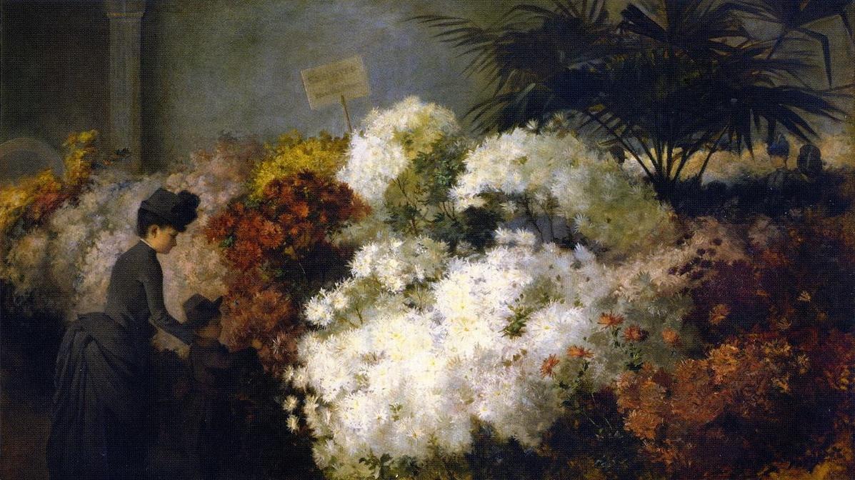 Abbott Fuller Graves - Pintor impressionista