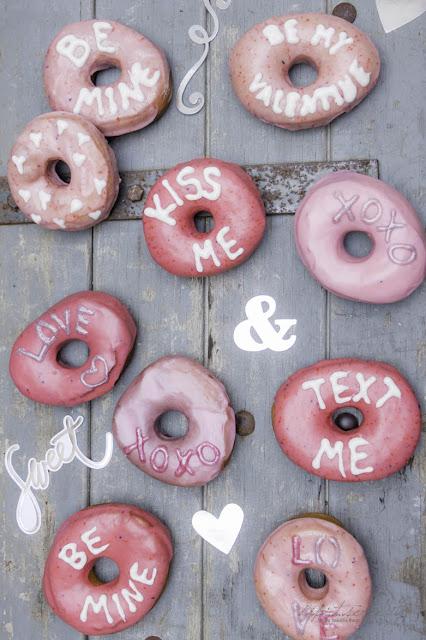 Valentinstag nicht nur für Pärchen - Donuts