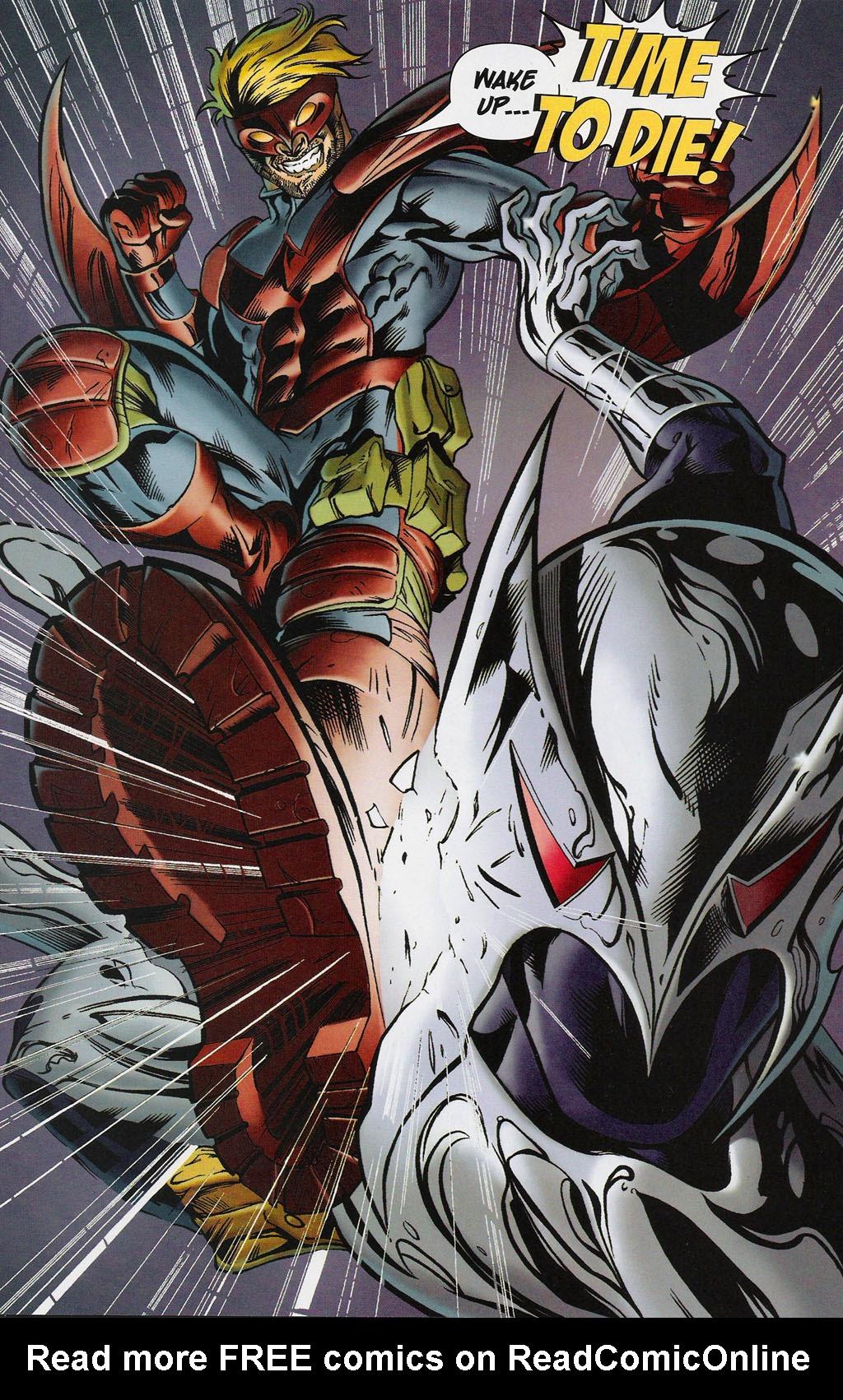 Read online ShadowHawk (2005) comic -  Issue #4 - 3