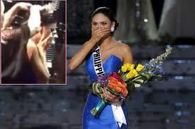 Hoa hậu hoàn vũ thế giới 2015 rơi nước mắt 12