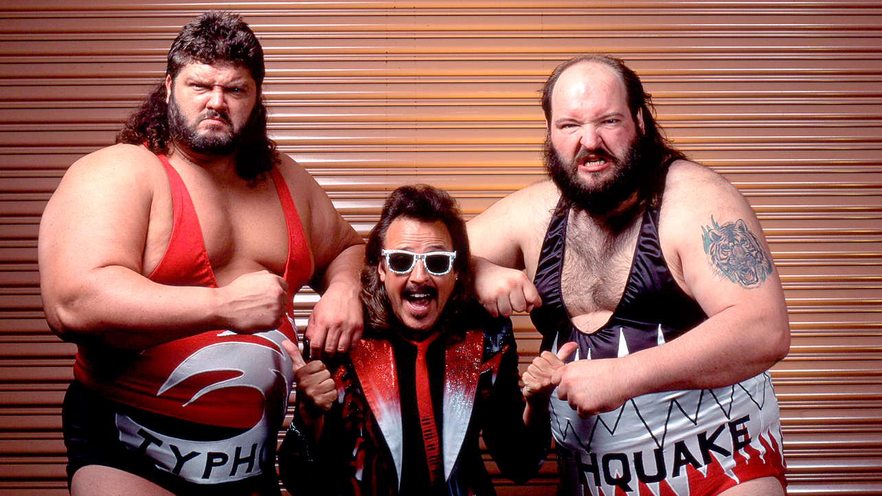 The Wrestling Insomniac: The Natural Disasters: Tag Team Champions?