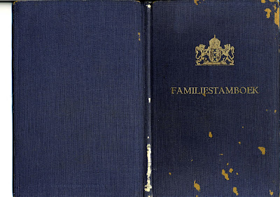 Familiestamboek van de Gemeente Amsterdam
