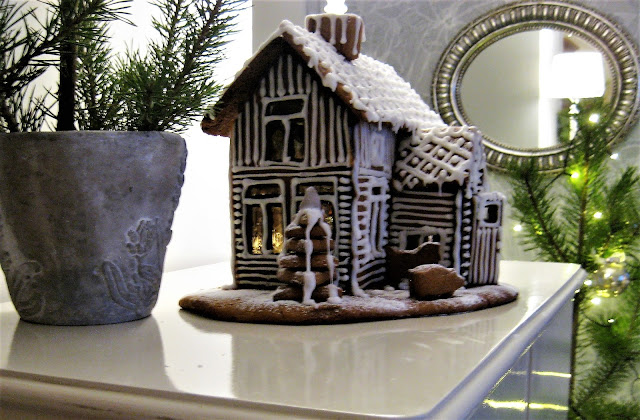 piparitalo, joulu, koriste