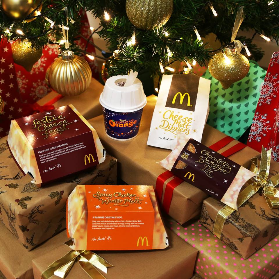 Mcdonalds Christmas Eve Hours.Love Hayley Beth Mcdonald S Christmas Menu 2016