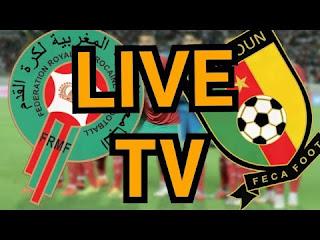 مشاهدة مباراة المغرب و الكاميرون بث مباشر يلا شوت تصفيات كأس الأمم الأفريقية