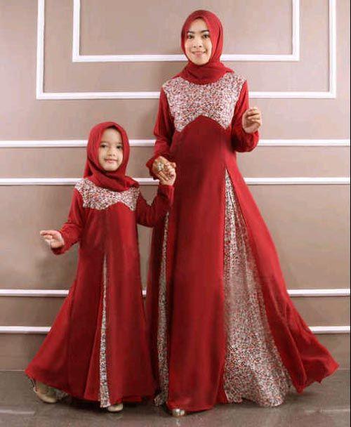 20+ Desain Model Baju Muslim Anak Perempuan Terbaru 2018
