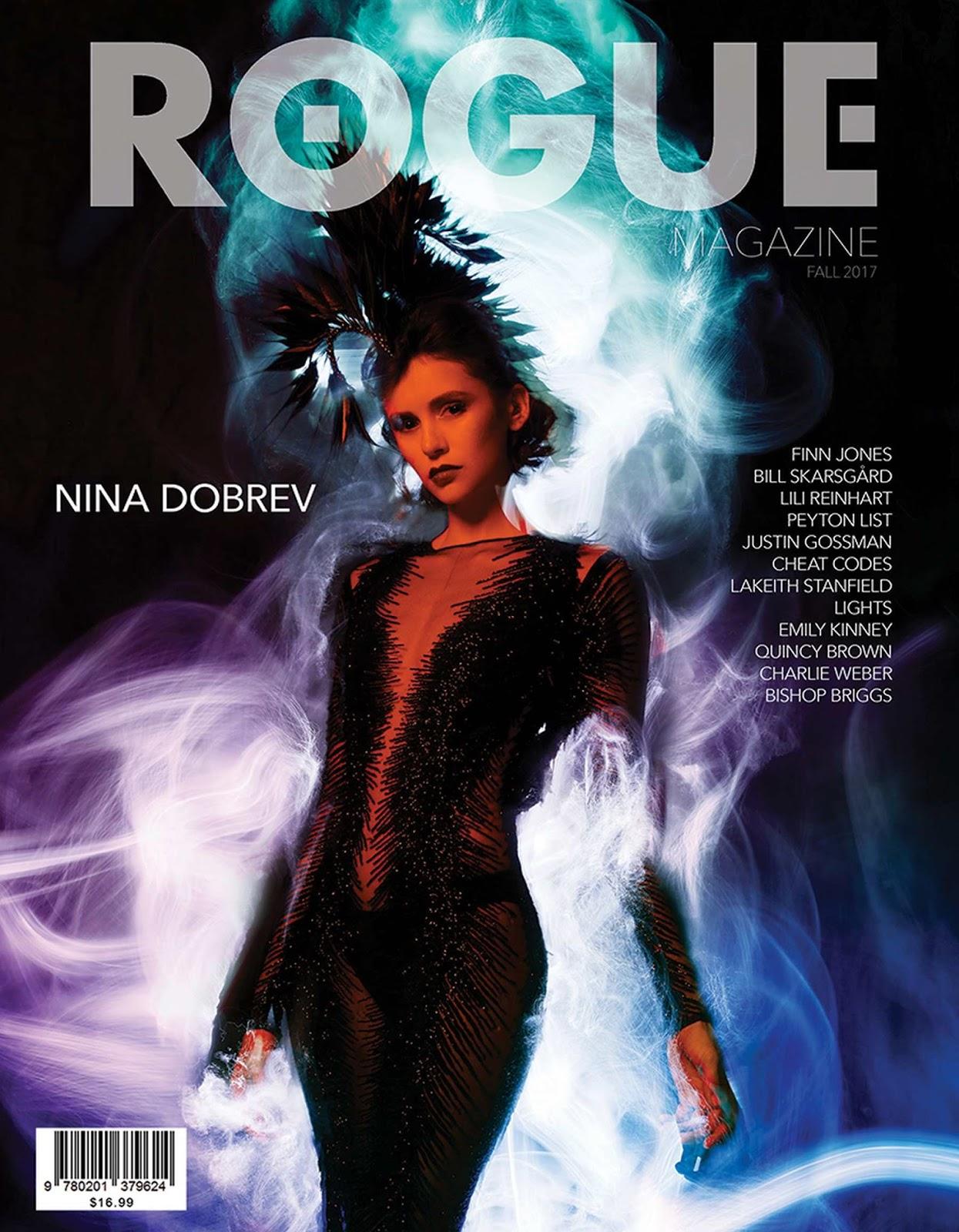 Nina Dobrev – Rogue Magazine Fall 2017