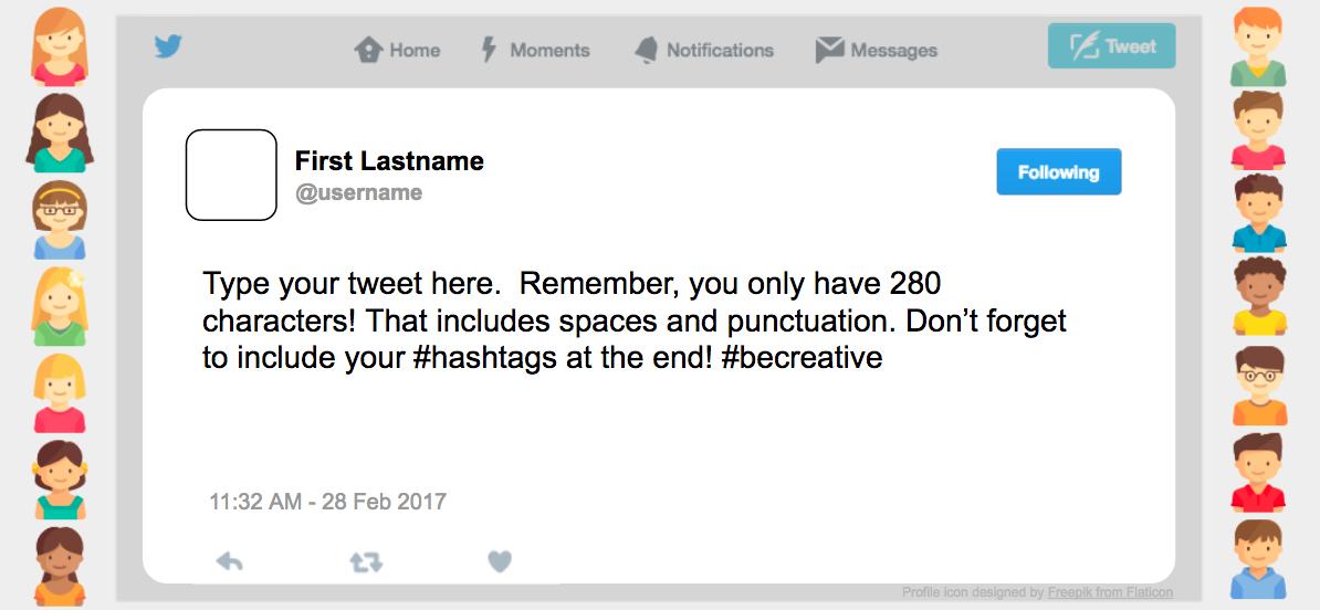 Teachingtechnix Tweet Template With Google Slides