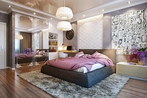 Interior design for a comfortable bedroom