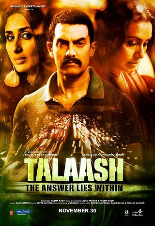 Talaash 2012 Hindi 1GB 720p BluRay Download