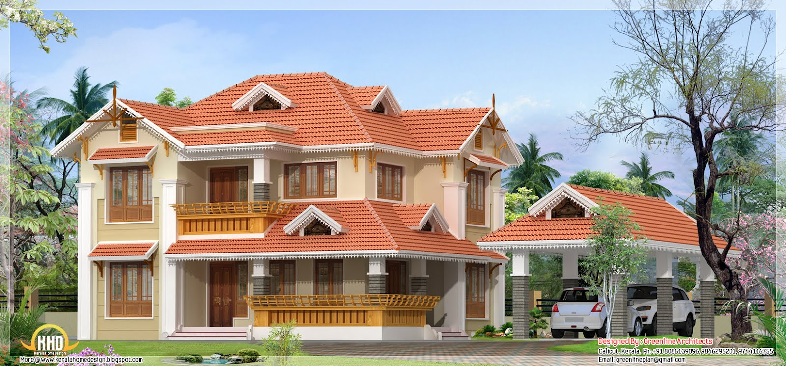 July 2012 kerala home design and floor plans for Home plans architect