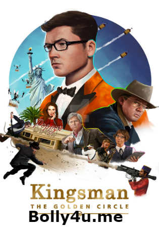 Kingsman The Golden Circle 2017 WEB-DL 400MB English 480p ESub Watch Online Full Movie Download bolly4u