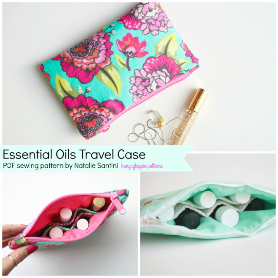 Essential Oils Travel Case