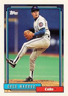 1992 Topps Greg Maddux