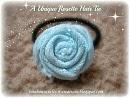rosette hair tie