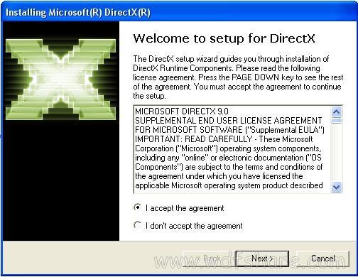 Directx 9 Offline Full version