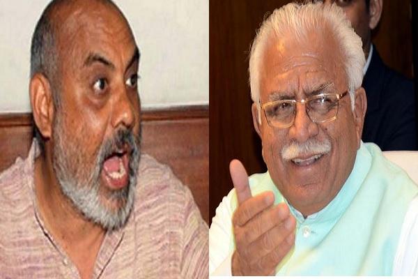 खनन माफियाओं को संरक्षण देने वाले खट्टर के मंत्री उन्हें नहीं मानते CM, विद्रोही