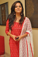 Anusuya in Red at Kalamandir Foundation 7th anniversary Celebrations ~  Actress Galleries 012.JPG