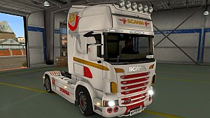 Scania R V8 Power