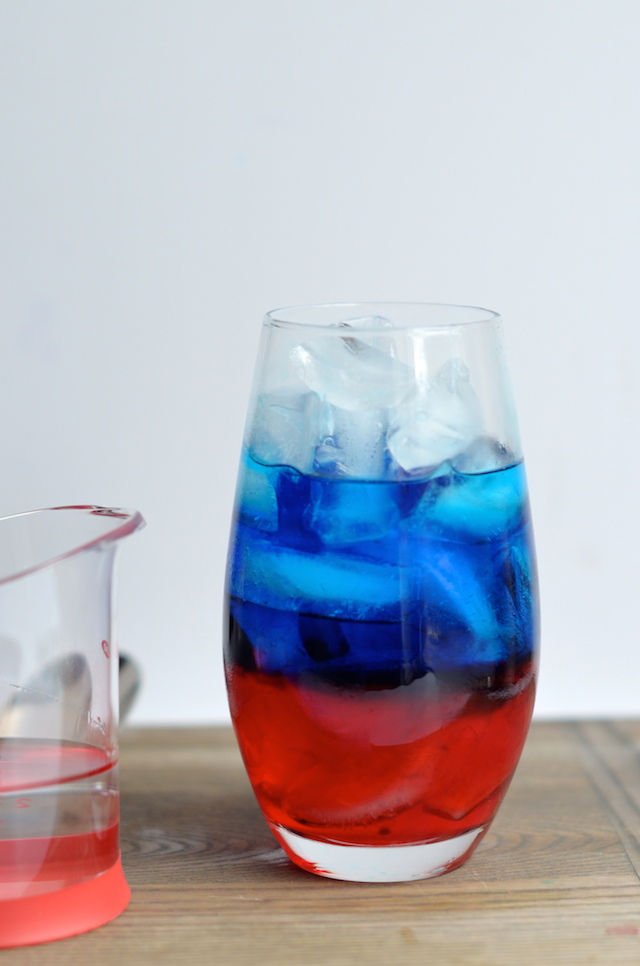 How to Make a Layered Red White and Blue 4th of July Cocktail