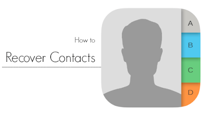 recover lost contacts android