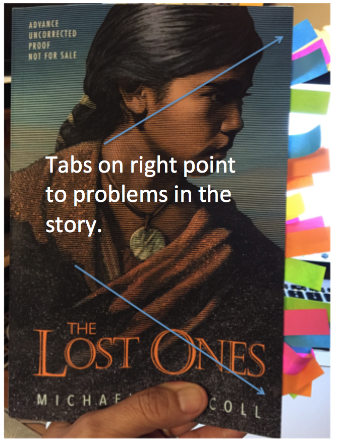 American indians in childrens literature aicl not recommended i finished reading the lost ones last night as i read i stuck tabs on pages my copy has a lot of tags in it see i ran out of tabs fandeluxe Choice Image