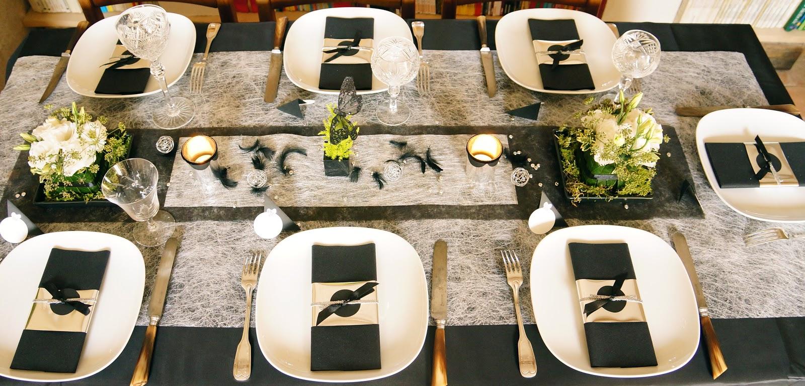 ma boutique d co table d coration de table un no l so chic. Black Bedroom Furniture Sets. Home Design Ideas