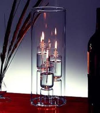 ديكور:استخدام الشموع في الديكور